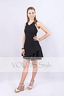Платье Victoria Beckham двойной волан, бретельки накрест (29)3024 Материал: легкий тиар