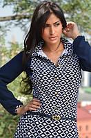 Изысканный комбинезон-платье (19)473 Материал: отто+креп-шифон, фото 1