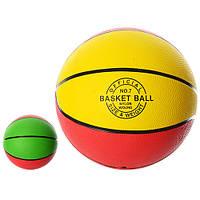 Мяч баскетбольный размер 7, резиновый, VA-0017