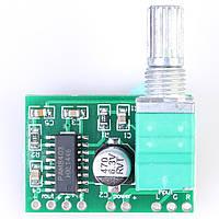 PAM8403 стерео аудио усилитель с регулятором, фото 1