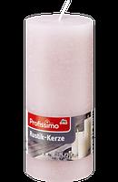 Profissimo Rustikkerze rosé -  Свеча декоративная цвет розовый длина 160 мм, диаметры 68 мм, 1 шт