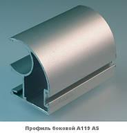 Двери купе. Ручка А119. Габариты 1400(Ш) х 2200(В) ДСП+Зеркало