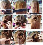 """Заколка для укладки волос """"Hairagami"""" для красивой прически каждый день (Арт. 07898), фото 3"""