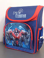 Рюкзак школьный  TM Оlli Epic Warrior OL-6814-1 синий для мальчика Робот Трансформер