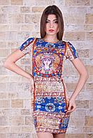 Женские летние платья пол | Византия платье Лея-1 к/р