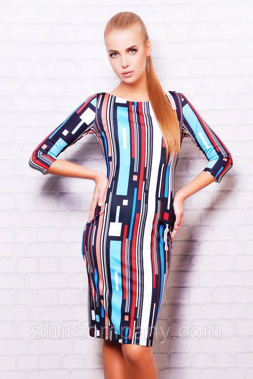 3e1487862697 Женское платье больше размеры   Полоски платье Лоя-1 д р  продажа ...