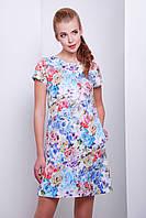 Купить женское летнее платье миди в киеве | платье Миранда к/р