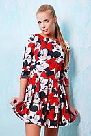 Купить нарядное летнее женское платье | Mickey Mouse платье Мия-1 д/р