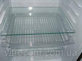 Полка для холодильника из калённого стекла 52х40 см
