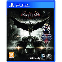 Игра Sony PS4 Batman: Return to Arkham Remastered Collection Русские субтитры