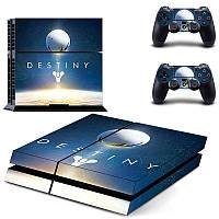 Скины для Sony Рlaystation 4 + 2 геймпада Destiny (Винил)