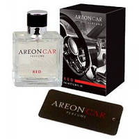 Areon Car Perfume 50ml Red стекло