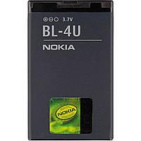 Аккумулятор Nokia BL-4U 450 mAh (6172; 206 301 3120 classic, 500 515 5250 5330 Mobile TV Edition, 5330 Xpress Music, 5530 Xpress Music, 5730 Xpress
