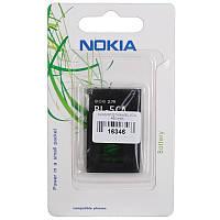 Аккумулятор Nokia BL-5CA 450 mAh (6176; 100 101 1100 1110i, 1112 1200 1208 1255 1315 1650 2112 2255 2270 2280 2285 2300 2310 2355 2600 2610 2626 3100