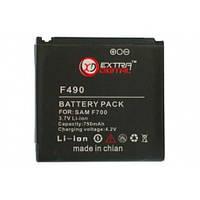 Аккумулятор Samsung SGH-F490 Extradigital 750 mAh (DV00DV6073)