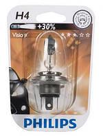 Лампа фары галоген 12 [В] H4 Vision 60/55W цоколь P43t-38 +30% света PHILIPS , фото 1