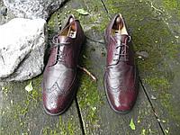 +Мужские туфли броги Lambertarri (оригиналы) код 019  размер 43.5   28,5 см