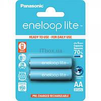 Аккумулятор AA 950mAh Panasonic Eneloop Lite Ni-MH блистер (2шт) (BK-3LCCE / 2BE)