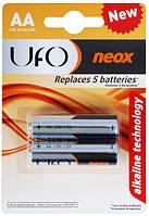 Батарейка AA UFO LR6 блистер (2шт) (цена за блистер)