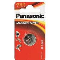 Батарейка таблетка CR2016 Panasonic блістер (1шт) (CR-2016EL/1B)