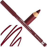 Карандаш для губ - Rimmel Lasting Finish 1000 Kisses Lip Pencil (Оригинал) №061 (Wine)