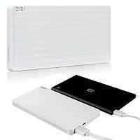 Дополнительный Аккумулятор универсальный 10000 mAh Xiaomi ZMI Power Bank White (PB810-WH)