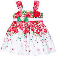 Красивое платье для девочек на бретельках