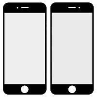 Защитное стекло корпуса для iPhone 6, черное, оригинал