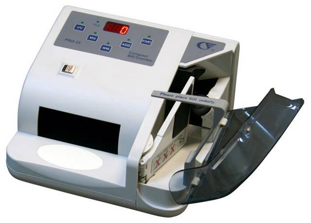 PRO 35 Счетчик банкнот + детектор UV/MG , фото 2