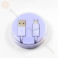 Кабель USB (папа) = iPhone 5/iPhone 6 Lightning USB Cable Шайба Violet