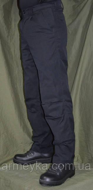 Брюки Police Ripstop Black Trousers (Великобритания, оригинал).