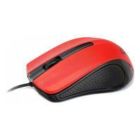 Мышка USB классическая Gembird MUS-101-R Red