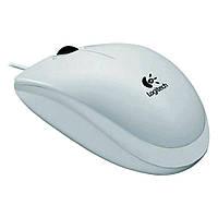 Мышка USB классическая Logitech B100 White -910,00336