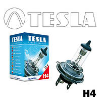 Лампа фари галогенна H4 12V 60/55W P 43t TESLA