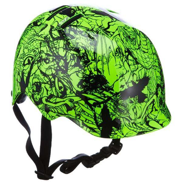 Велошлем подростковый Giro Surface ярко-зелёный/чёрный, М (55-59) (GT)