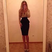 """Элегантное платье """"Риана"""", 2 цвета, фото 1"""