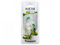 Наушники вакуумные Panasonic RP-HJE118GU-G Green (RP-HJE118GU-G)
