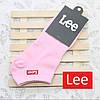 Носки Lee низкие, светло розовые