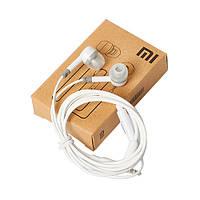 Наушники вакуумные с микрофоном 3.5мм Xiaomi MDZ-01-AB White (совместная с аудиовизуальным разъемом HTC 3,5мм)