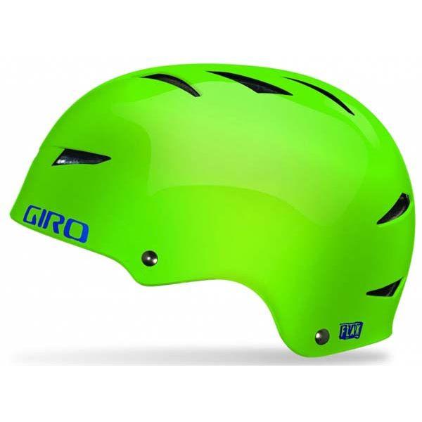 Велошлем подростковый Giro Flak лайм, L (59-62) (GT)
