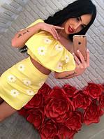 Женский яркий летний костюм DB-1331