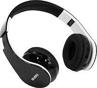 Наушники накладные беспроводные Sven AP-B450MV Black/White (AP-B450MV)
