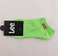 Носки Lee низкие, зеленые, фото 1