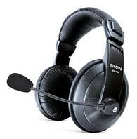 Наушники накладные с микрофоном Sven AP-860MV Black (AP-860MV)