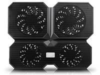 """Подставка под ноутбук 15.6"""" DeepCool MultiCore X6 Black (MultiCore X6)"""