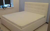 Двуспальная кровать, Кровать для спальни с мягким изголовем