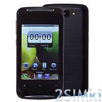 """Мобильный Телефон G12i 3.5"""" Black емкостный экран, Смартфон G12i сенсорный 3.5 дюймов"""