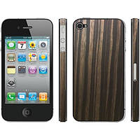Защитная пленка Apple iPhone 4G/4S Burlwood прозрачная Clear-Coat