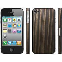 Защитная пленка Apple iPhone 4G/4S Clear-Coat Walnut прозрачная