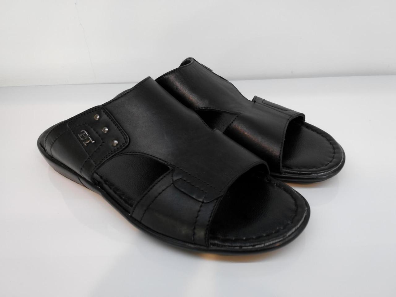 Шлепанцы Etor 682-13203 черные